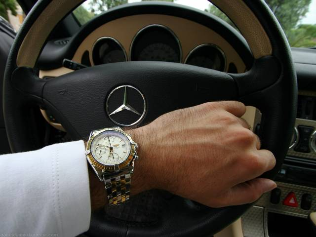 Chronomat and SLK (chronomat_slk_wrist_shot.jpg)