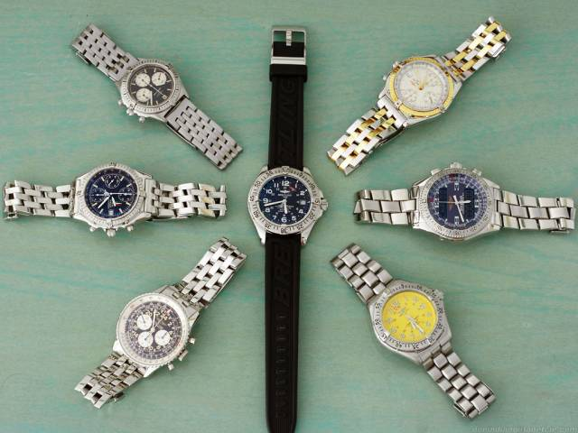 Watch collection, Aug 2008 (collection_200708.jpg)