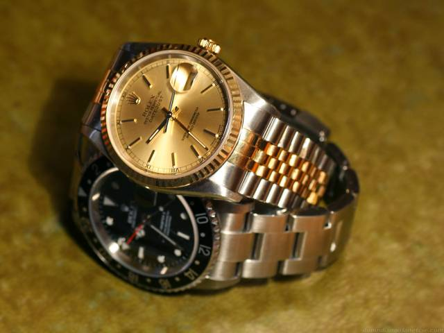 Datejust and GMT Master (datejust_on_gmt_master.jpg)